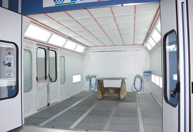 Prestige Spray Booth Suppliers Nova Verta Systems