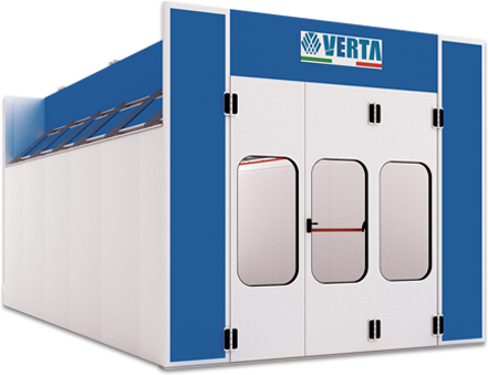 Nova Verta Excel Spray Booth