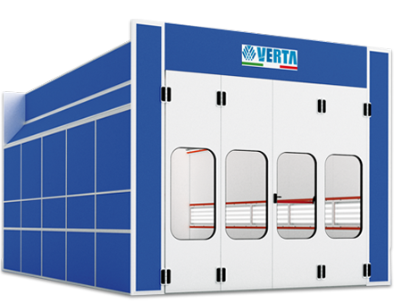 Nova Verta Super Prestige Spray Booth